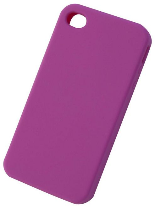 Tortoise™ Soft Silicone Case iPhone 4/4S Pink