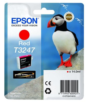 Epson Printer ink cartridge for SureColor SC-P400 - Red