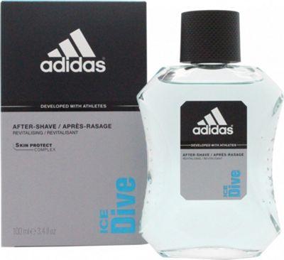 Adidas Ice Dive Aftershave 100ml Splash For Men