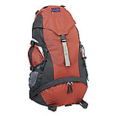 North Gear Starlight 40 +10L Rucksack Backpack Red