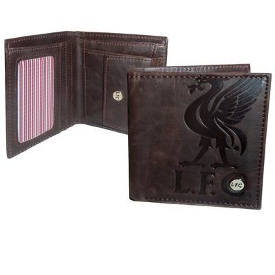 Liverpool FC Luxury Wallet Brown