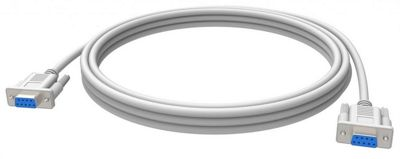 Vision TC 10MS 10m RS-232 White serial cable