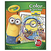 MINIONS COLOUR AND STICKER