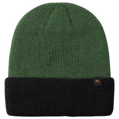 Emerica Triangle Cuff Beanie - Green/Black