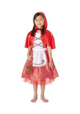 F&F Little Red Riding Hood Fancy Dress Costume Red 9-10 years