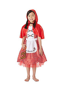 F&F Little Red Riding Hood Fancy Dress Costume - Red