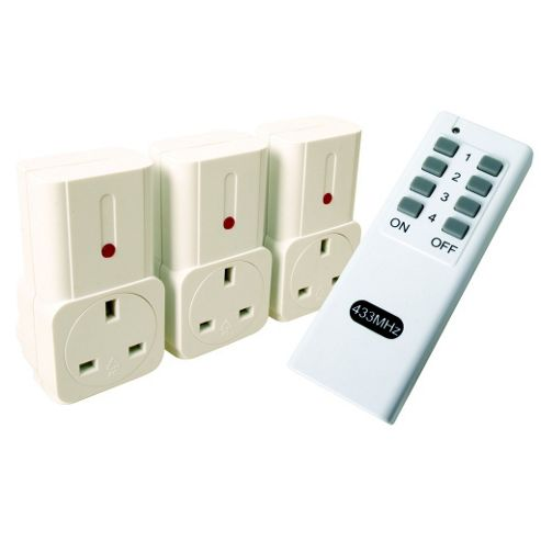 Rc Socket 3-Pack
