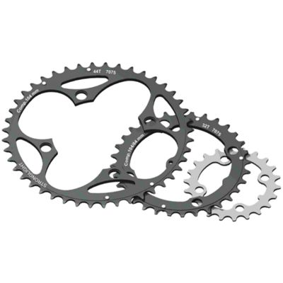 Stronglight 4-Arm/104mm Chainring: 38T Without Pins.