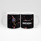Power Rangers Movie Personalised Galaxy Mug