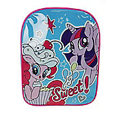 My Little Pony 'Sweet' Pvc Front School Bag Rucksack Backpack