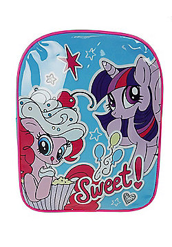 My Little Pony 'Sweet' Pvc Front School Bag Rucksack Backpack