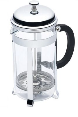 Kitchen Craft Kclxpress8Cp Cafetiere 8Cup Chrome Plt
