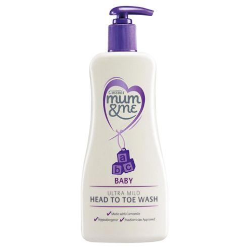 Mum & Me Baby Ultra Mild Head To Toe Wash 500ml