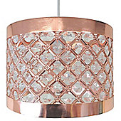 Moda Copper Light Fitting