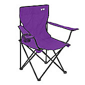 Trail Folding Camping Chair - Purple