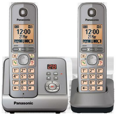 PANASONIC - Panasonic TG6722 DECT phone - twin