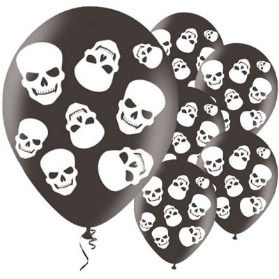Halloween Fright Night 11 inch Latex Balloons - 6 Pack