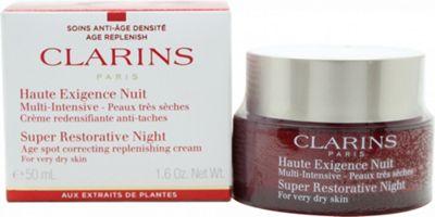 Clarins Super Restorative Night Wear Cream 50ml - Very Dry Skin