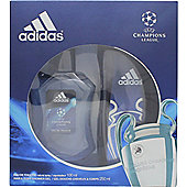 Adidas Uefa Champions League Edition Gift Set 100ml EDT + 250ml Shower Gel For Men