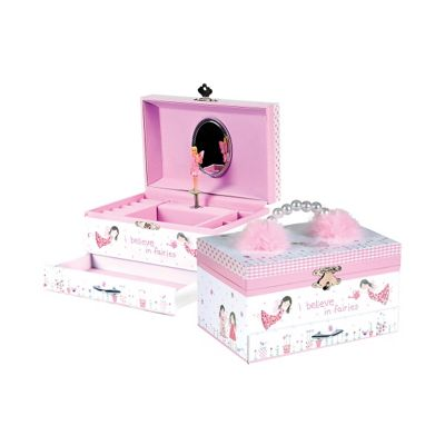 Children's Musical Jewellery Box – Fairy Blossom