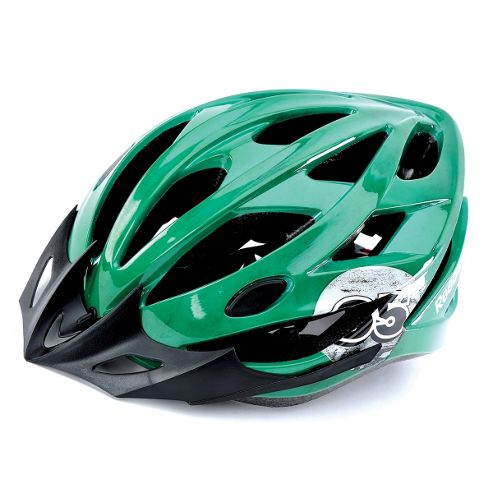 Reebok Teen Cycling Helmet Green