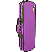 Tom and Will 4/4 Size Violin Gig Case - Purple
