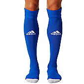 adidas Milano 16 Football Soccer Rugby Sport Socks - Royal blue