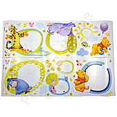 Winnie the Pooh Photo Wall Stickers - 46 pieces