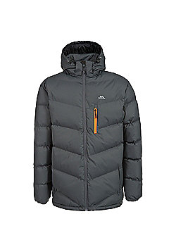 Trespass Mens Blustery Insulated Coat - Grey