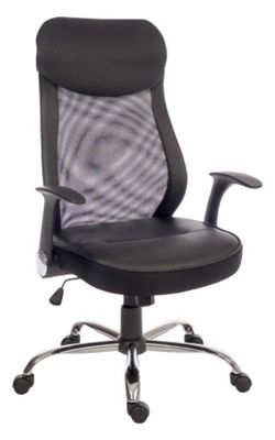 Teknik Curve Mesh Black Office Chair