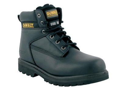 DeWALT Maxi Safety Boots Black 8 UK