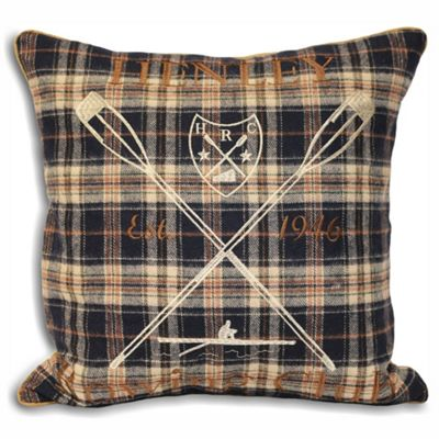 Riva Home Henley Navy Cushion Cover - 45x45cm