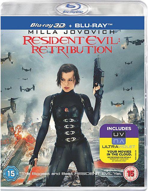 Resident Evil: Retribution - Blu-Ray 3D + Blu-Ray