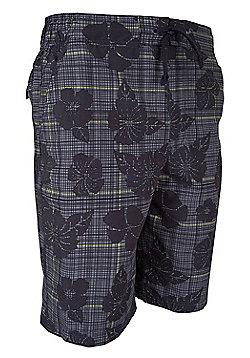 Mountain Warehouse Ocean Pattern Mens Boardshorts - Green