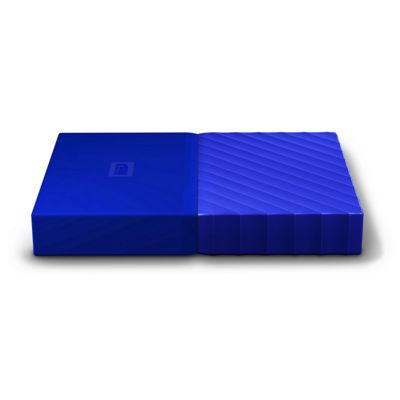 WD My Passport 2TB USB3.0 Portable Blue Hard Drive