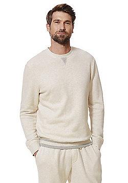 F&F Ribbed Lounge Sweatshirt - Oatmeal