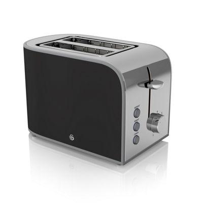 Swan 800W 2-Slice Retro Toaster