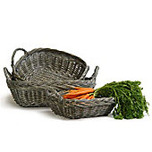 Grey Rectangular Baskets