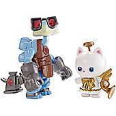 Mattel Disney Pixar Toy Story - Raygon and Angel Kitty Figures (dpf07)