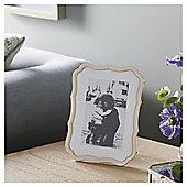 "Fox & Ivy Cream Whimsical Photo Frame 4x6 """