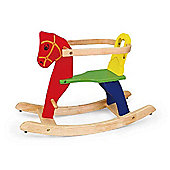 Viga Colourful Wooden Rocking Horse - Kids/Children's Toy