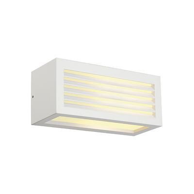 Box-L Wall Lamp Light Square White Max. 18W