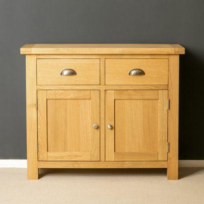 Truro Oak Sideboard - Small Sideboard - Oiled Oak