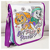 Paw Patrol Skye Colour Your Own Messenger / Shoulder Bag with Gems