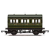 Hornby Coach R4672 Sr 4 Wheel Coach - Railroad