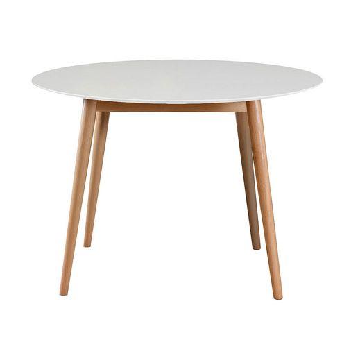 Tretton White Round Dining Table