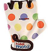 Kiddimoto Gloves Pastel Dotty (Medium)