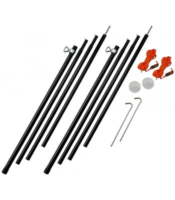 Vango Adjustable Steel King Poles