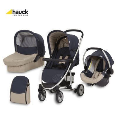 Hauck Malibu All-In-One Pushchair, Moonlight/Almond