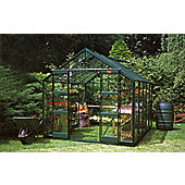 Elite Belmont Greenhouse – 8 x 10 - Green Powdercoat Finish – Toughened Glass